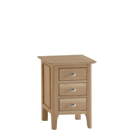 Newhaven Oak  Small Bedside Cabinet